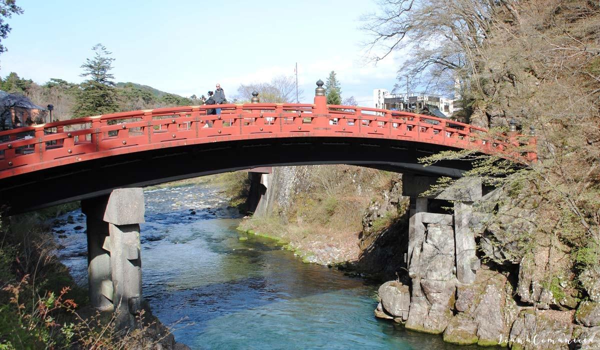 Podul Shinkyo nikko japonia