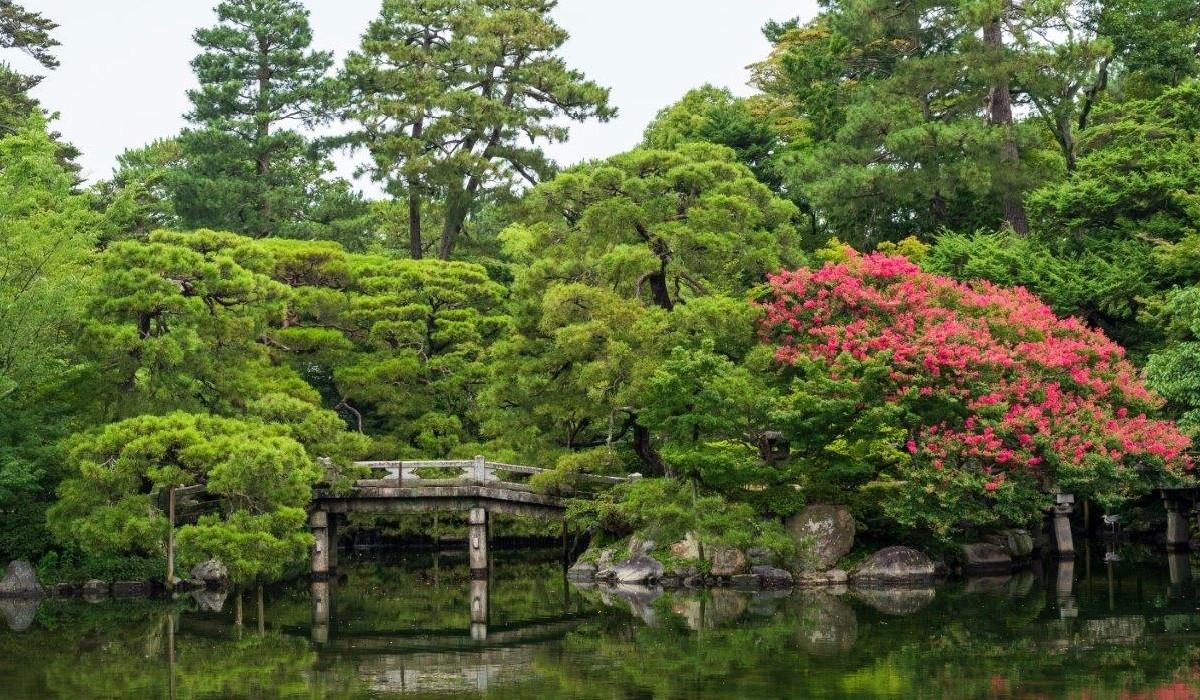 Palat Sento Kyoto Japonia