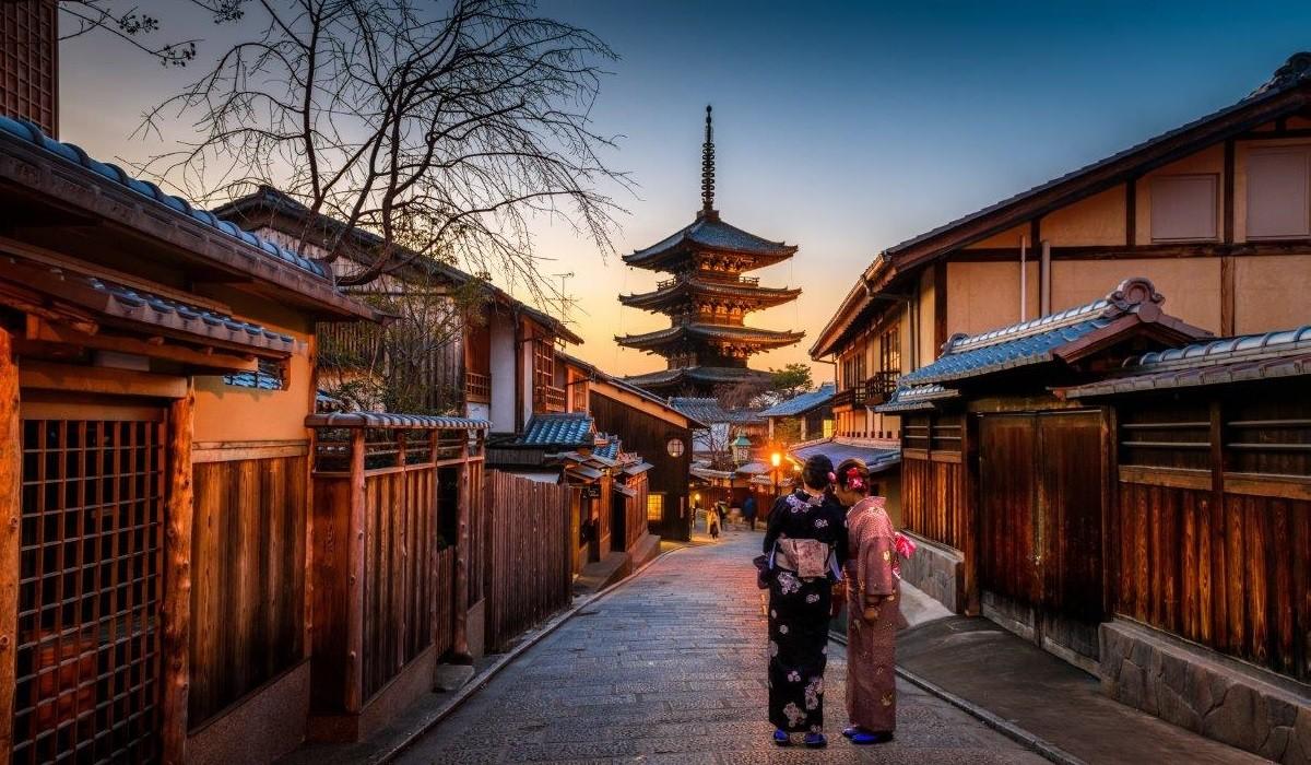 Pagoda Yasaka Kyoto Japonia