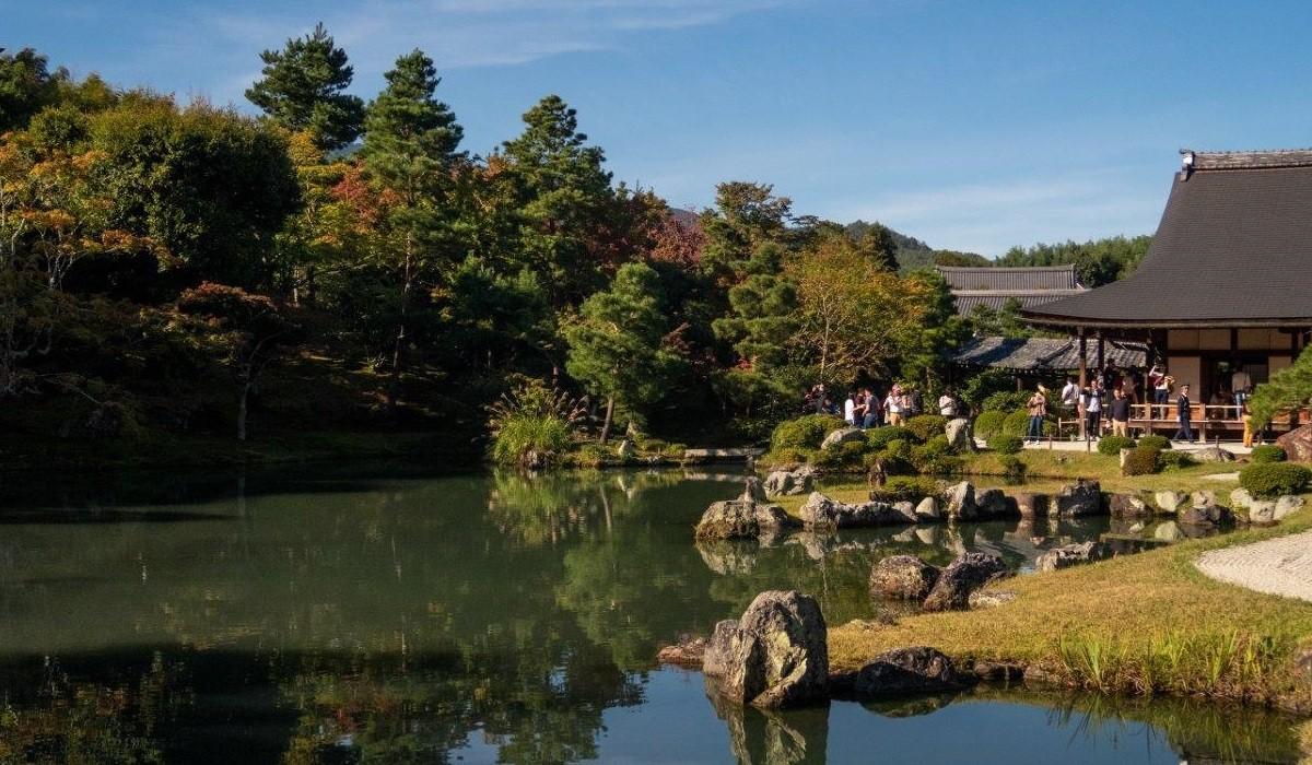 Tenryuji Kyoto Japonia