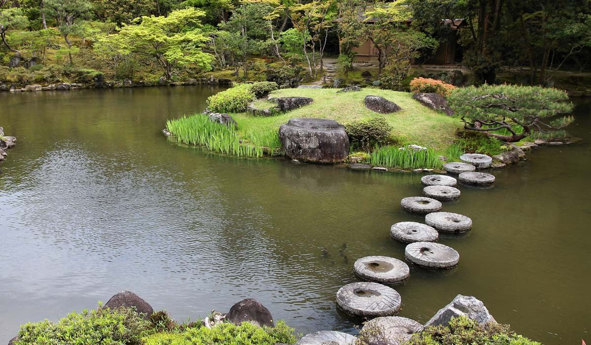gradina isuien nara japonia