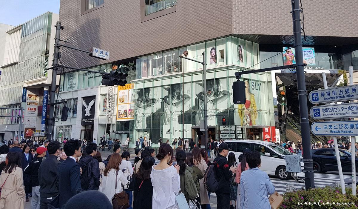 Cartierul Harajuku Tokyo