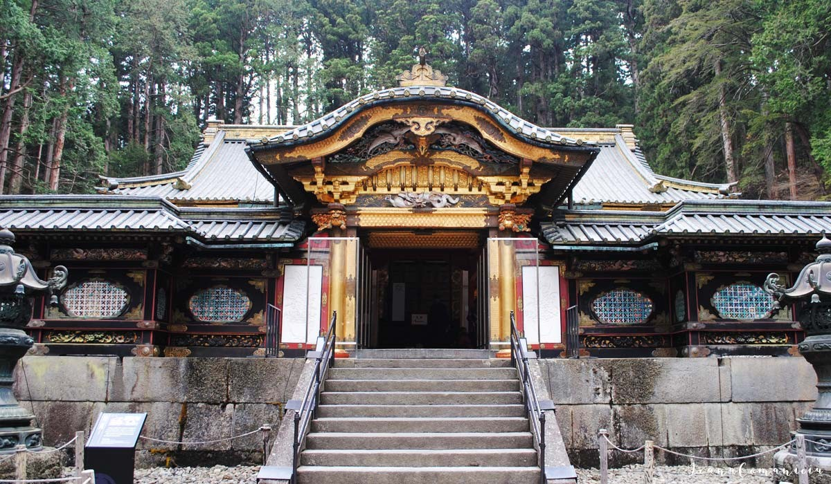 mausoleul taiyuinbyo nikko japonia