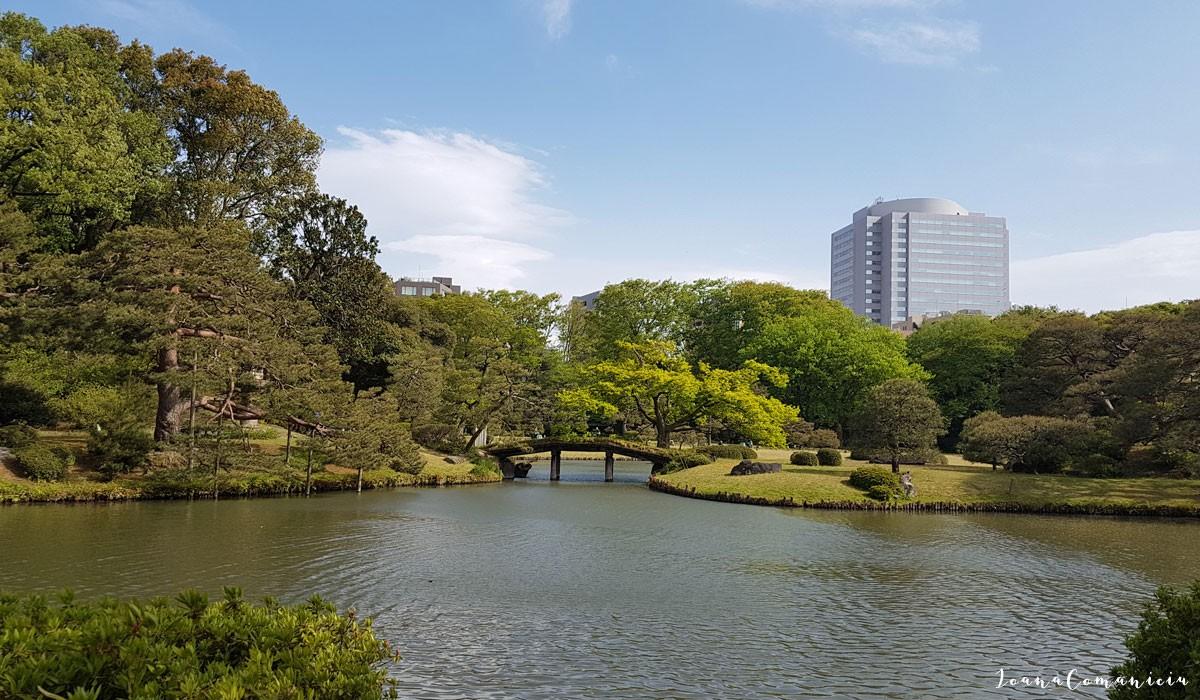 Gradina japoneza Rikugien Tokyo