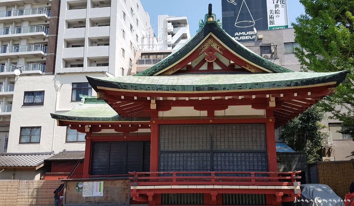 Sanctuarul asakusa tokyo