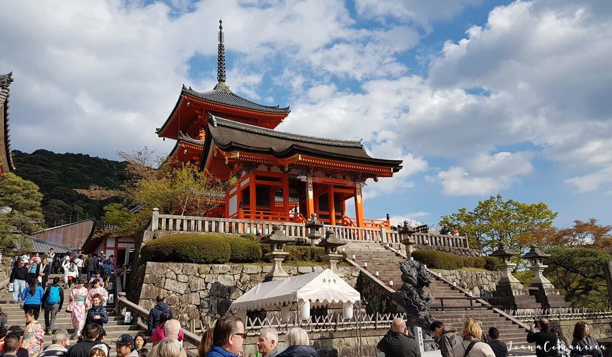 templul kiyomizudera kyoto japonia
