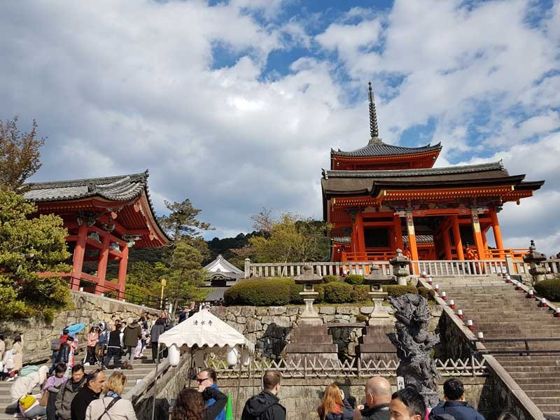 Templul Kiyomizudera Japonia