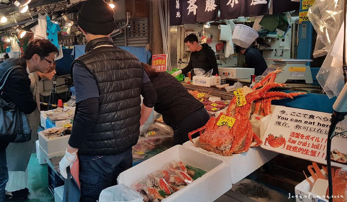 Piata de peste Tsukiji